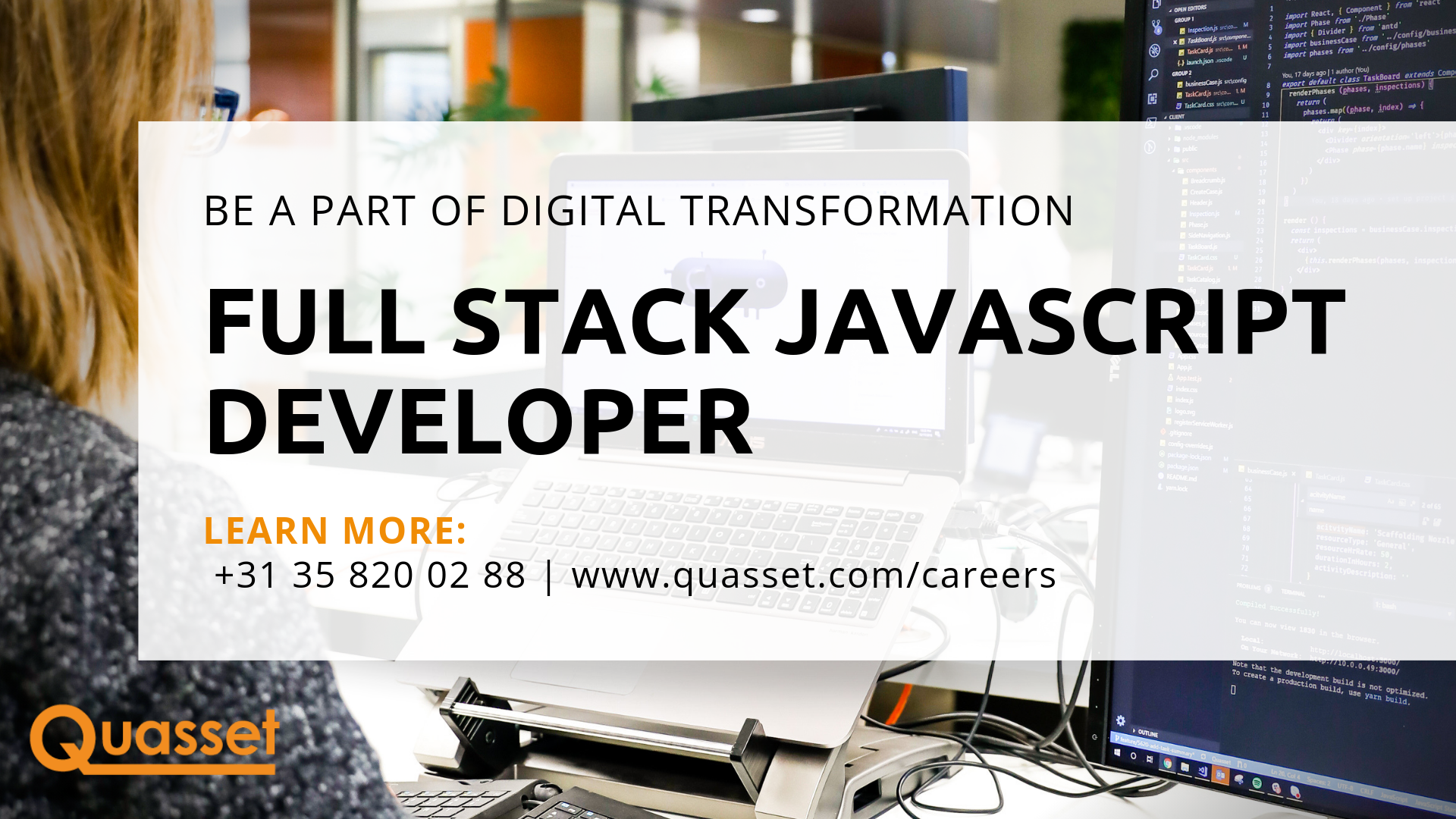 Full Stack JavaScript Developer Quasset