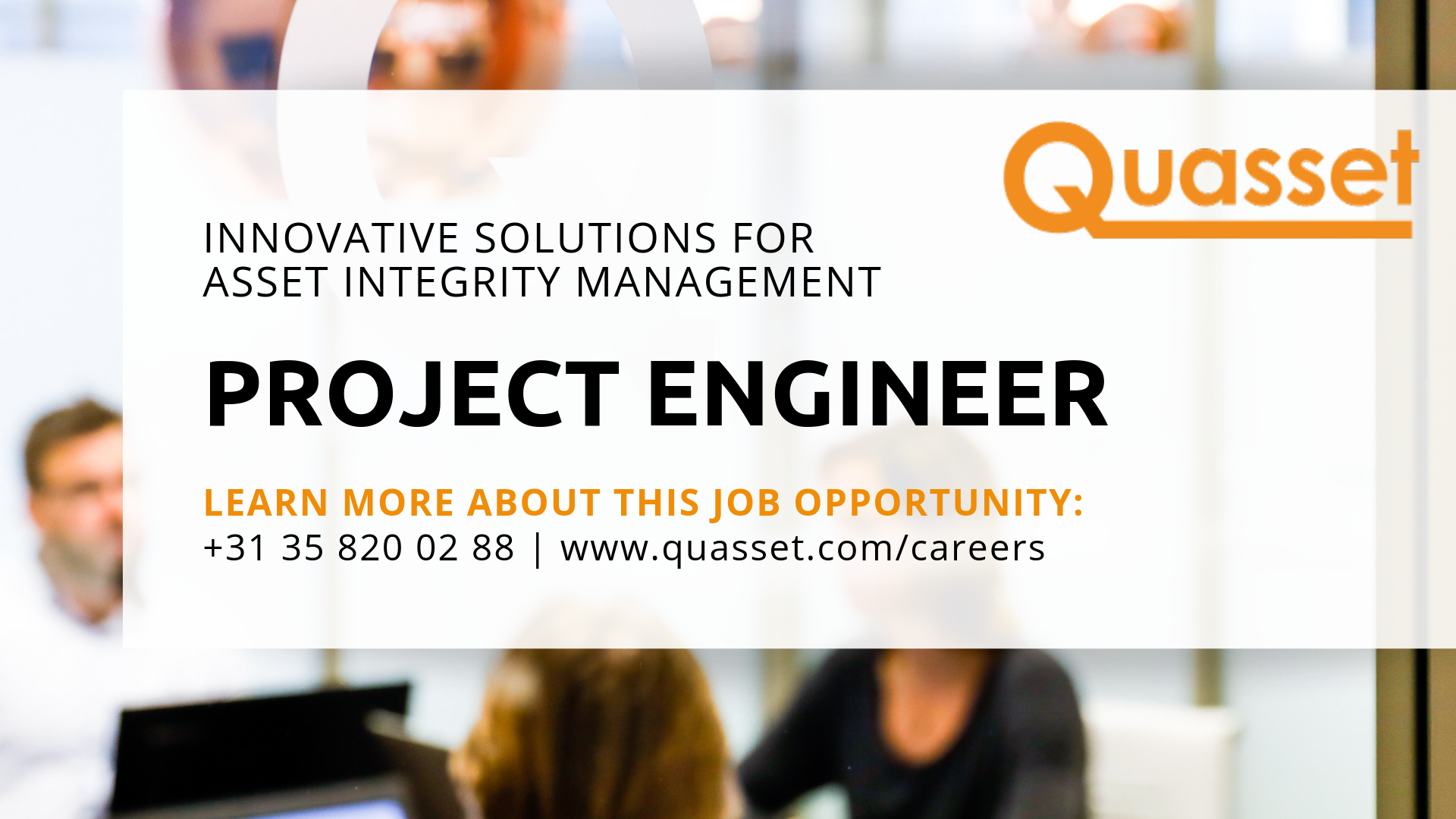 Project Engineer Quasset asset management