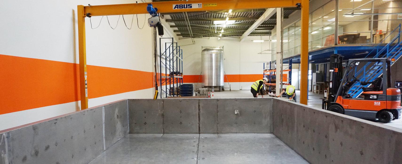 Quasset Test Facility QTF robotics water basin